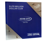 "Компания СКАН СИТИ получила от TSC награду ""ELITE MILLION DOLLAR CLUB"""